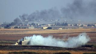 Bom Mobil Hantam Konvoi Tentara Turki di Suriah