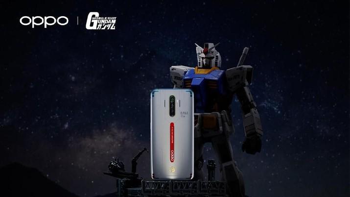 Oppo Reno Ace Gundam Edition Segera Rilis, Harganya?