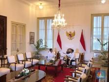 Live! Jokowi Temui Prabowo di Istana, Bahas Kabinet?