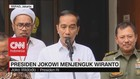VIDEO: Jokowi Jelaskan Kondisi Terkini Wiranto