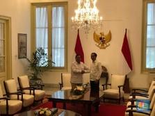 Jelang Pelantikan Presiden, Jokowi Temui Prabowo di Istana