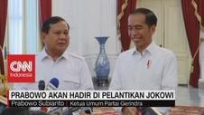 VIDEO: Prabowo Akan Hadir di Pelantikan Jokowi