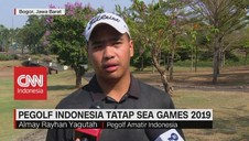 VIDEO: Pegolf Indonesia Tatap Sea Games 2019