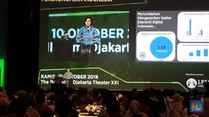 Sri Mulyani Sebut Pertumbuhan Ekonomi Digital RI Bikin Iri