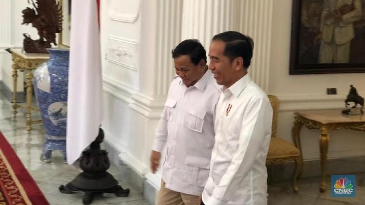 Usai menemui Jokowi, Prabowo mengatakan mendukung gagasan pemindahan ibu kota negara dari Jakarta ke Kalimantan Timur