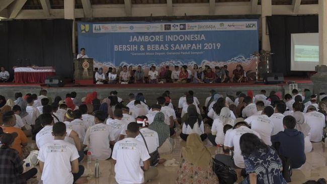 Ratusan Pegiat Sampah Hadir di Jambore Indonesia Bersih 2019