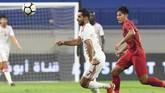 Kekalahan 0-5 dari Uni Emirat Arab membuat Indonesia terpuruk di dasar klasemen Grup G Kualifikasi Piala Dunia 2022. (Photo by KARIM SAHIB / AFP)