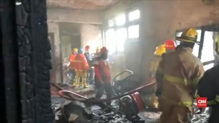 VIDEO: Wisma Indonesia di KBRI Bangkok Terbakar