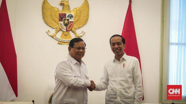 Jokowi: Gerindra Kemungkinan Masuk Koalisi