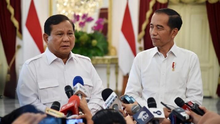 Jika Prabowo masuk ke kabinet Jokowi, bagaimana efeknya ke pasar?