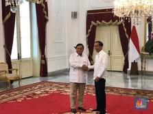 Gerindra Jadi Gabung Koalisi? Jokowi: Ini Belum Final