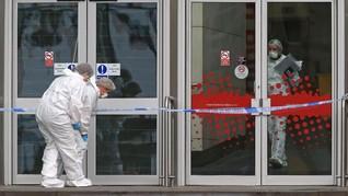FOTO: Teror Penusukan di Manchester