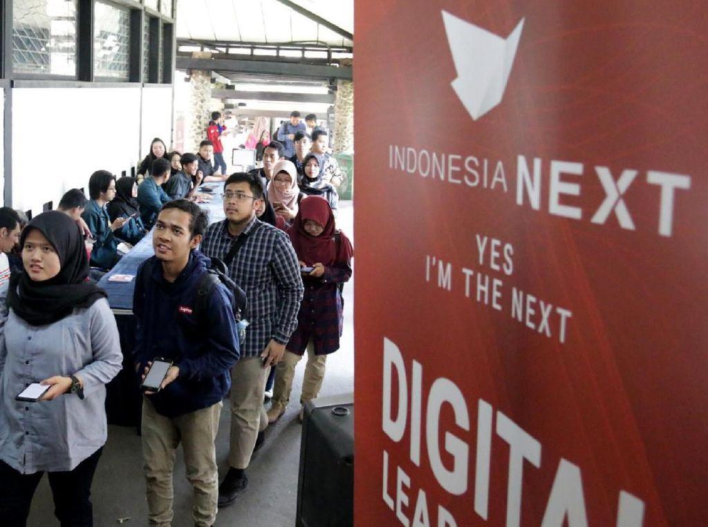 Indonesia Next merupakan Program Masterpiece CSR Telkomsel yang bergerak di bidang Pendidikan. Foto: dok. Telkomsel
