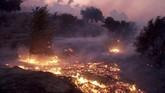 Lebih dari satu juta warga California tidak mendapat suplai listrik karena pemadaman. Petugas berwenang memutus suplai listrik untuk menghindari dampak kebakaran lebih parah. (Dean Musgrove/The Orange County Register via AP)