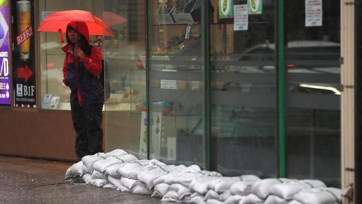 Topan Hagibis serang Jepang