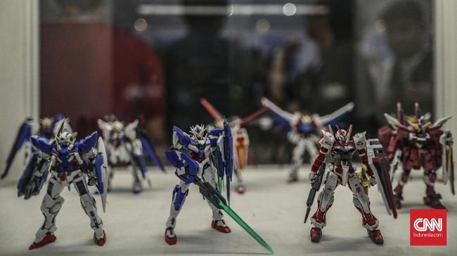 Pesta para penggemar komik, film, game dan mainan ini dapat ditemui di Hall A dan B Jakarta Convention Center pada 12—13 Oktober 2019. (CNN Indonesia/Bisma Septalisma)