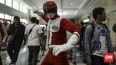 Generasi 90an, dan khususnya pecinta Power Rangers, akan diajak bernostalgia di ajang Shopee Indonesia Comic Con 2019 dengan kehadiran Austin St John, juga sederet jagoan Transformer. (CNN Indonesia/Bisma Septalisma)