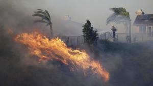 FOTO: Badai Api di California