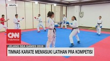 VIDEO: Timnas Karate Memasuki Latihan Pra Kompetisi