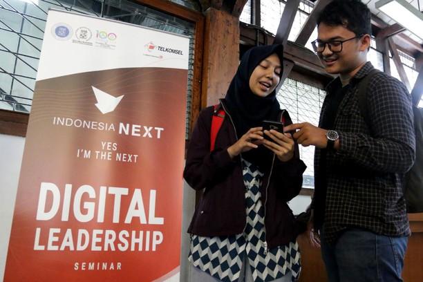 Keriuhan IndonesiaNEXT 2019 di Kota Kembang