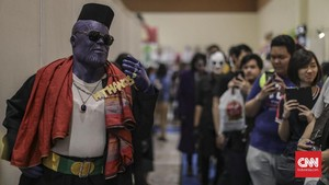FOTO: Riuh Indonesia Comic Con 2019
