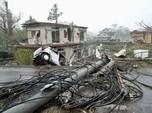 Diserang Topan Hagibis Jepang Lumpuh, 33 Orang Tewas