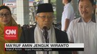 VIDEO: Ma'ruf Amin Jenguk Wiranto