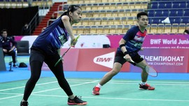 Leo/Indah Gagal di Final Kejuaraan Dunia Badminton Junior