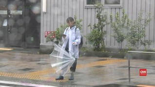 VIDEO: Jumlah Korban Topan Hagibis Bertambah