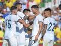 Argentina Hajar Ekuador 6-1