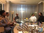 Bertemu Prabowo, Surya Paloh Sebut tak Ada Pembahasan Menteri