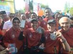 Garis Finish BNI ITB Ultra Marathon