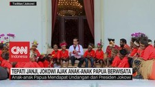 VIDEO: Jokowi Ajak Anak-Anak Papua Berwisata ke Ancol