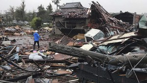 FOTO: Topan Hagibis Sapu Jepang