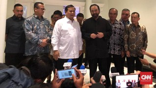 Surya Paloh dan Prabowo Sepakat Amendemen UUD 1945 Menyeluruh