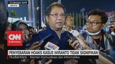 VIDEO: Penyebaran Hoaks Kasus Wiranto Tidak Signifikan