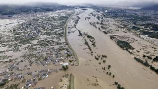 Topan Hagibis Tewaskan 10 Orang di Jepang, Tiga Hilang