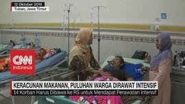 VIDEO: Keracunan Makanan, Puluhan Warga Dirawat Intensif