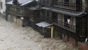 Topan Hagibis Jepang Telan 58 Korban Tewas