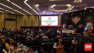 DPRD DKI Jakarta Umumkan Susunan Pimpinan AKD