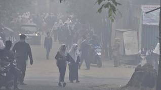 Kabut Asap Ekstrem di Palembang, Sekolah Kembali Diliburkan