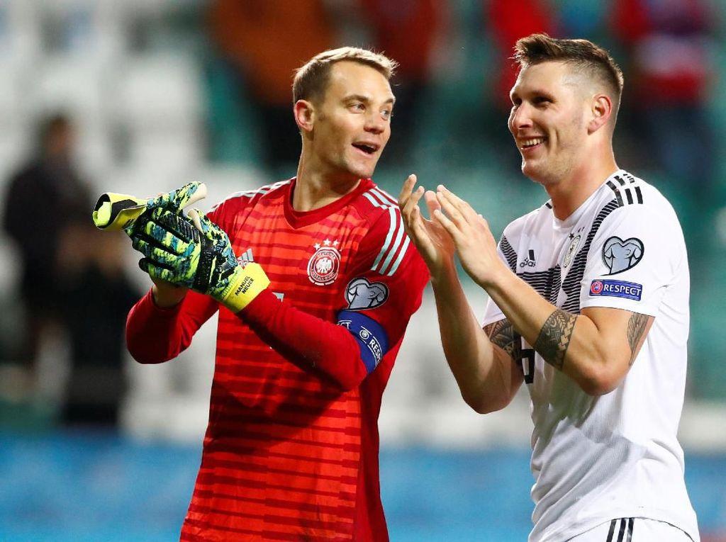 10 Pemain Jerman Tetap Terlalu Tangguh untuk Estonia