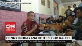 VIDEO: Denny Indrayana Ikut Pilgub Kalsel