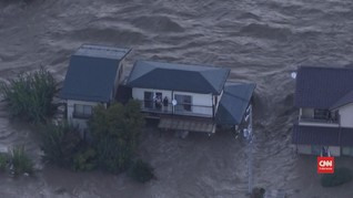 VIDEO: Jejak Kerusakan Akibat Topan Hagibis