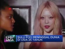 Lagi, Artis K-Pop Depresi, Sulli F(x) Meninggal Bunuh Diri