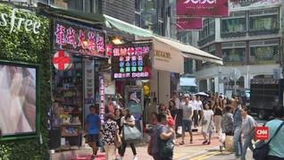 VIDEO: Demo Buat Pariwisata Hong Kong Lesu