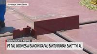 VIDEO: PT PAL Bangun Kapal Bantu Rumah Sakit TNI AL