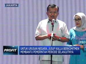 JK Pamit, Tapi Tetap Komitmen Bantu Pemerintahan Jokowi 2.0