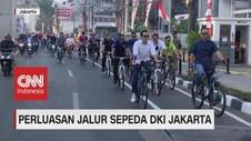 VIDEO: Perluasan Jalur Sepeda DKI Jakarta