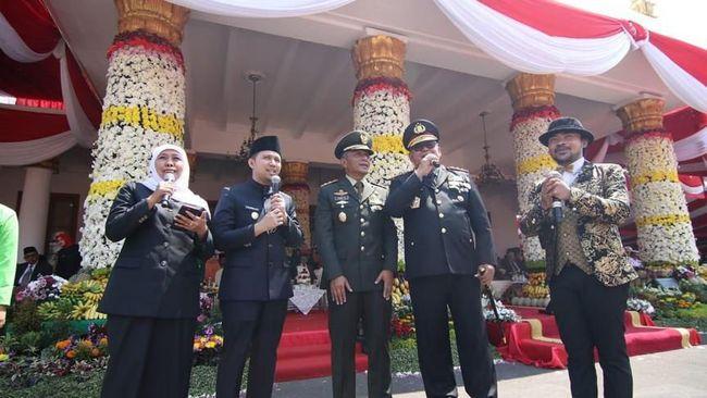 Di HUT ke-74, Gubernur Jatim: Rawat Persatuan dan Kesatuan